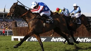 Special Tiara charges up the hill in the Champion Chase