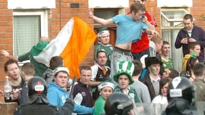 Trouble has broken out among students celebrating St Patrick's Day in previous years
