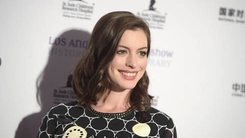 Get The Look: Anne Hathaway's leather look