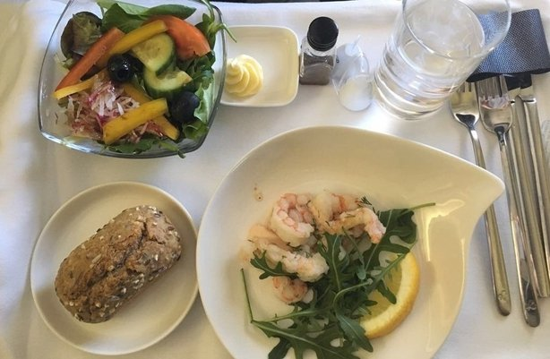 In-flight dining at its best