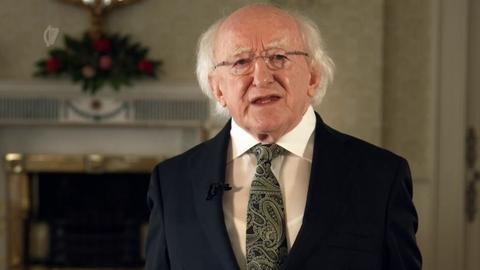 Teachtaireacht ón Uachtarán Micheál D. Ó hUigínn