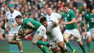 Ireland will be out to deny England a successive Grand Slam