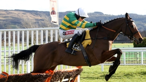 Defi Du Seuil claimed the JLT Novices' Chase