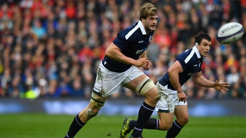 Richie Gray could line out for Scotland against Ireland