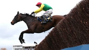Robbie Power aboard Sizing John at Cheltenham