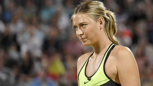 Maria Sharapova has won her two previous matches against Roberta Vinci in emphatic fashion