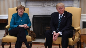 Donald Trump spoke with Angela Merkel ahead of the G20 summit