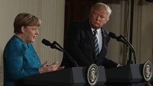 Angela Merkel hinted at differences during press conference