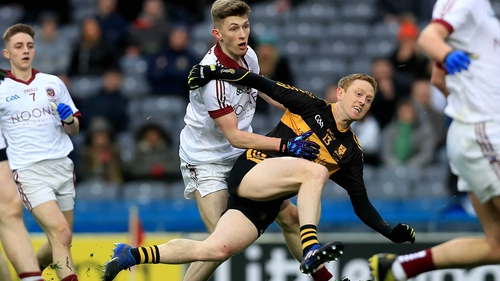 Colm Cooper steers home his crucial goal for Dr Crokes