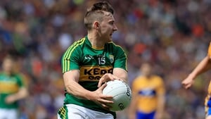 James O'Donoghue made just one Championship appearance for Kerry in 2016