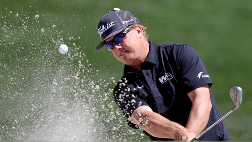 Charley Hoffman is top of the leaderboard