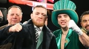 McGregor stepped into the boxing ring to support Michael Conlan - next time it may be to fight