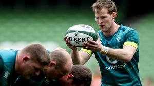Kieran Marmion will make his first Six Nations start against England