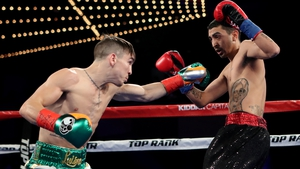 Michael Conlan enjoyed a third round stoppage win