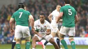 Ireland against England in this year's Six Nations
