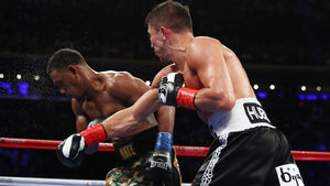 Gennady Golovkin overcame  Daniel Jacobs on points