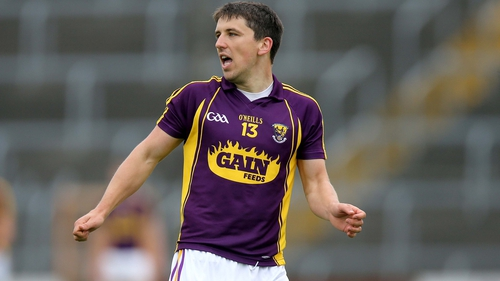 Ciarán Lyng was among the Wexford scorers
