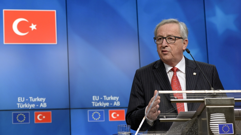 Turkey and Europe are locked in a diplomatic crisis