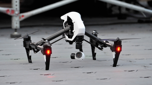 The unit has trialled DJI Inspire 1 drones