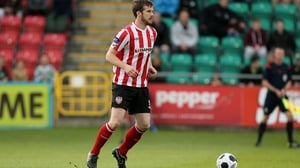 The late Derry City captain Ryan McBride