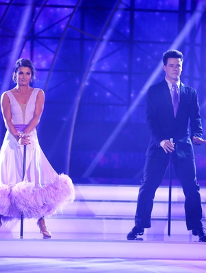 Week 11: Dayl and Ksenia went all out in feathers and props for their final performance.
