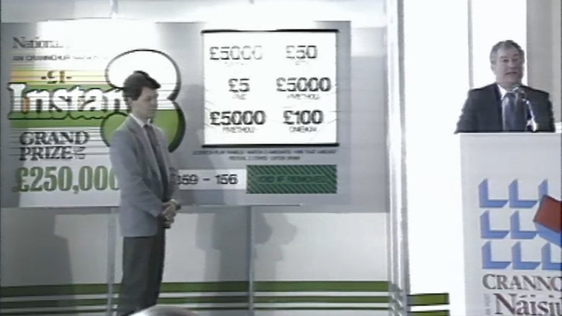 National Lottery Launch (1987)