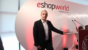 eShopWorld's chief executive Tommy Kelly said the company is scaling up for a near doubling of revenues