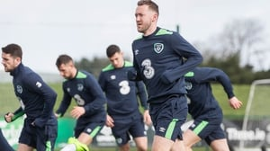 Will in-from Aidan McGeady figure in the line-up to face Wales tonight?