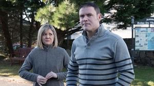 Graiine and David are in despair because of money worries on Ros na Rún