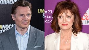 "Liam Neeson is ""perfect"" according to Susan Sarandon"