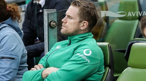 Jamie Heaslip has been injured since March.