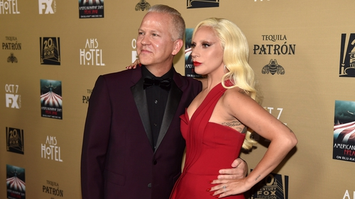 Ryan Murphy with Lady Gaga