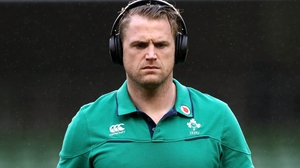 Jamie Heaslip before the game