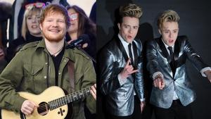 Ed Sheeran says he loves Jedward