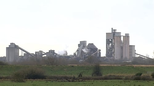 Irish Cement's plant in Limerick