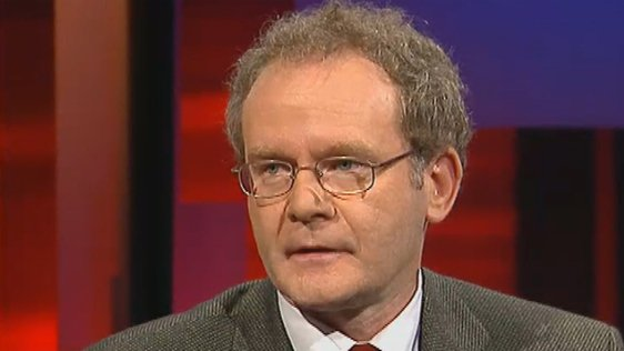 Martin McGuinness And The Peace Process