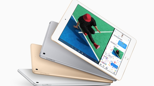 The new iPad has an upgraded Retina display and a new A9 chip
