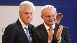 Bill Clinton and Martin Guinness enjoyed a good relationship