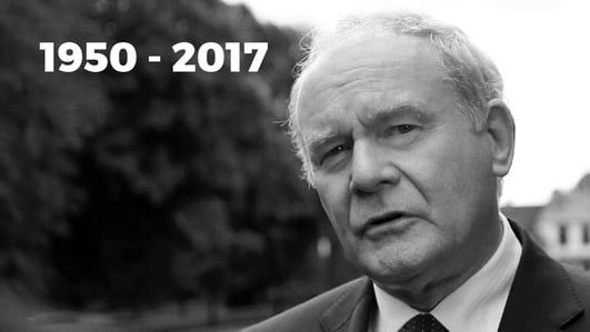 Death of Martin McGuinness Ctd.