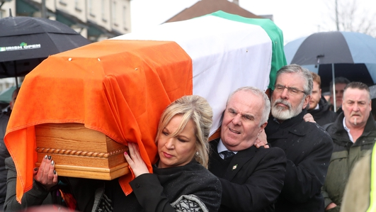 Death of Martin McGuinness