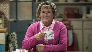 It's the last hurrah from Mrs Brown tonight in the current series