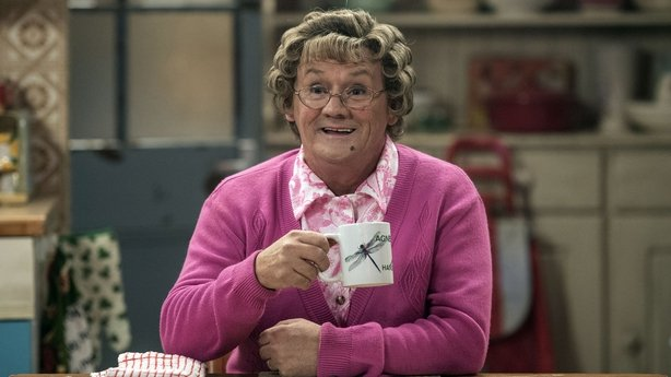 Mrs Brown is the Hostess with the Most Effs on new show