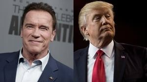 Arnold Schwarzenegger takes aim at Donald Trump's record low approval ratings