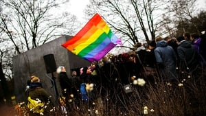A memorial event for homosexuals persecuted by the Nazis held in Berlin earlier this year