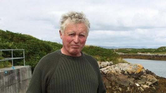 John Bhaba Jeaic Ó Conghaile, staraí áitiúil.