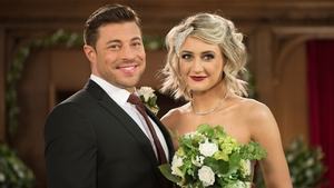 Amy and Ryan tie the knot
