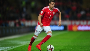 Chris Gunter want a goal to go along with his cap haul