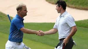 Rory McIlroy was beat 2&1 by Soren Kjeldsen