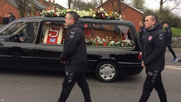 Funeral of Ryan McBride