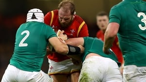 Best, left, and Alun Wyn Jones have both been touted as possible Lions captains